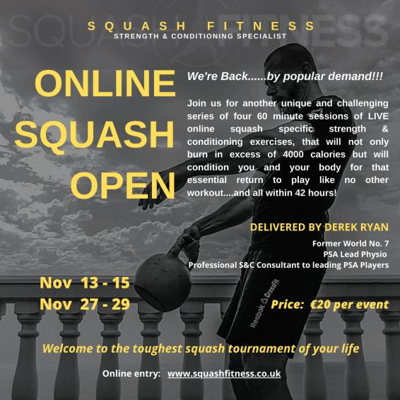 Flyer Online Open Autumn Series
