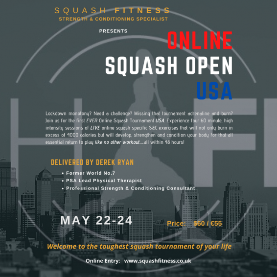 Online Squash Open USA Instagram Final